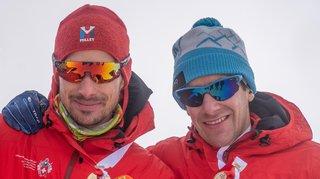Ski-alpinisme: les Haut-Valaisans Iwan Arnold et Déborah Chiarello conquérants à domicile