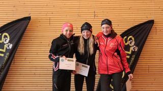 Ski de fond: les deux Valaisannes Estelle Darbellay et Sophie Rey sur un même podium