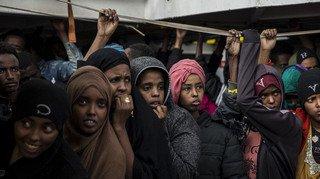 Crise migratoire: plus de 400 migrants secourus en mer depuis le 1erjanvier