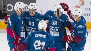 Hockey – National League: Lausanne s'impose face à Davos, Zurich Lions bat Lugano
