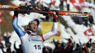 Il y a dix ans, le skieur morginois Didier Défago régnait sur le Lauberhorn