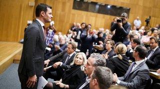 Affaire Maudet: les membres du PLR genevois accordent leur soutien au conseiller d'État par 341 voix contre 312