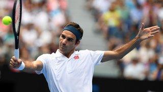 Tennis - Open d'Australie: Federer domine Evans en trois sets et se qualifie pour le troisième tour