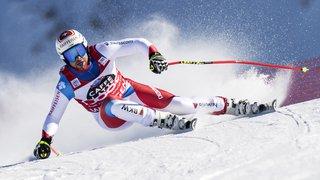 Ski alpin: Beat Feuz détrôné sur le Lauberhorn par Kriechmayr qui remporte la descente de Wengen