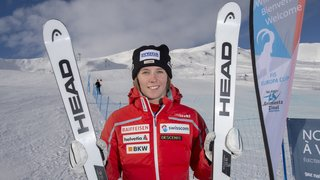 Ski alpin: à Zinal Camille Rast retrouve le top-10 et le sourire