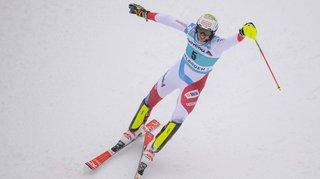 Le slalomeur haut-valaisan Ramon Zenhäusern a encore balancé son bâton