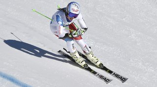 Ski alpin: après près d'une année d'absence, Camille Rast est de retour en Coupe du monde