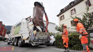 Libéralisation du ramassage des sacs-poubelles: pas de révolution en Valais