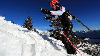 Ski alpinisme: Yannick Ecoeur se lance pour sa dernière montée