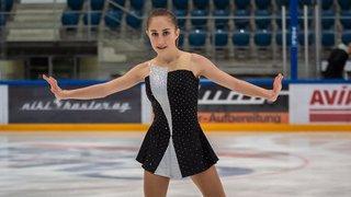 Oxana Vouillamoz, championne de Suisse cadette