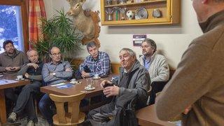 Peu discutée à Bagnes, la fusion interpelle plus à Vollèges