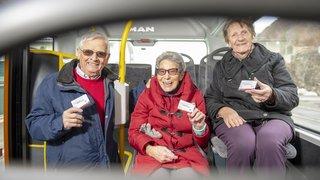 Les abonnements de bus gratuits font un tabac auprès des aînés martignerains