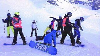 Un camp de ski à Saas Fee pratique l'inclusion des personnes en situation de handicap