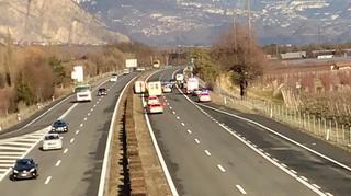 Accident sur l'A9: l'autoroute a été rouverte
