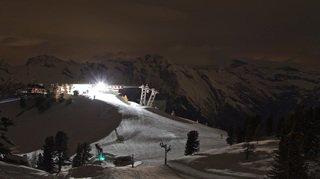 Nendaz: du ski au clair de lune lors de la Full Moon Party