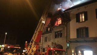 Vaud: un homme décède dans un incendie à Oron