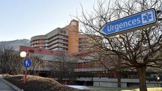 Hôpital du Valais: les patients attendent en moyenne 30minutes aux urgences de Sion