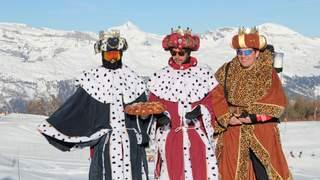 Les Rois arrivent en Valais