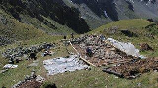 Première à Liddes: le mur (dit) d'Hannibal réunit vingt-cinq chercheurs