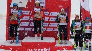 La skieuse bagnarde Annie Farquet en évidence