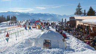 L'hiver dans nos stations: les vacances se prolongent à Crans-Montana