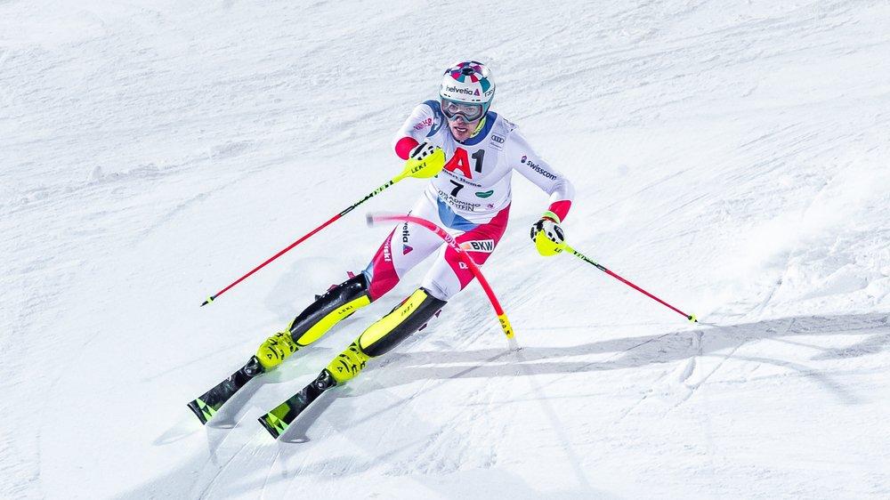 Daniel Yule a réussi sa répétition générale d'avant mondiaux en terminant 3e du slalom de Schladming.