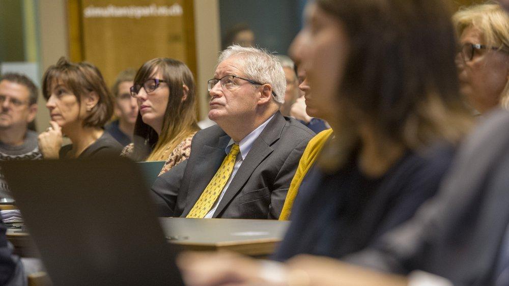 Le président de la constituante Jean Zermatten est ouvertement critiqué par un membre UDC du bureau transitoire.