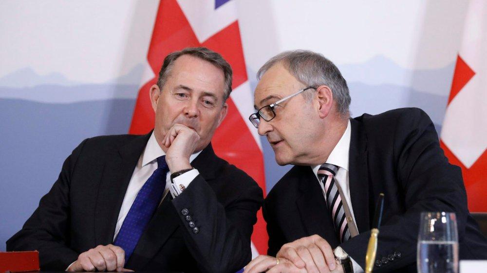 Suisse et Royaume-Uni s'accordent