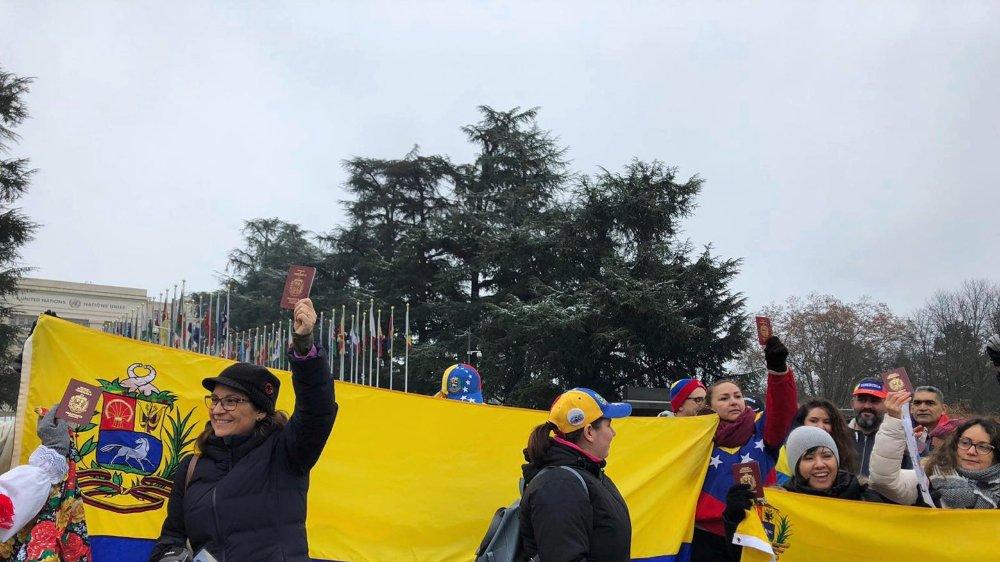 Diaspora contre Maduro