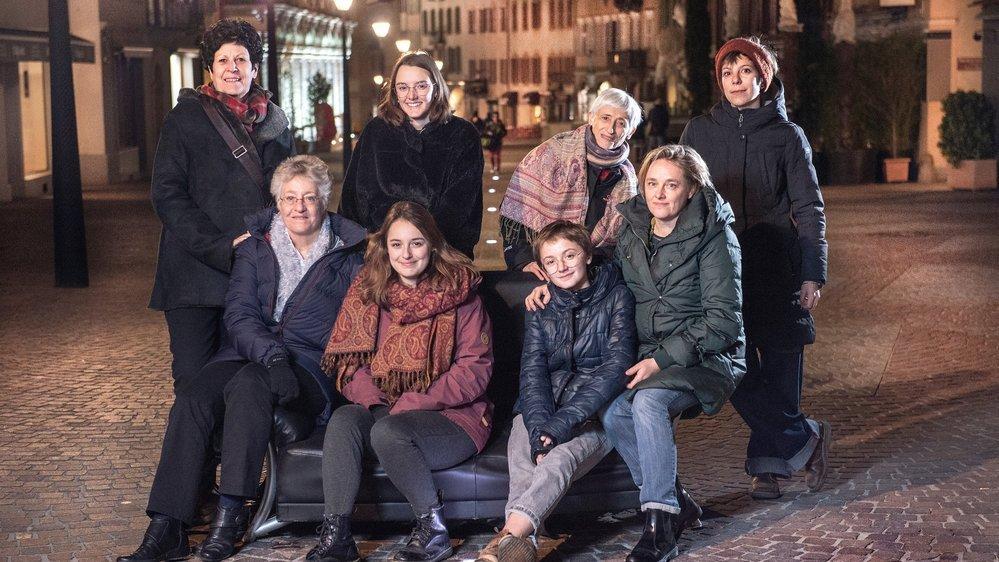 Réunies au stamm féministe organisé par le Collectif Femmes Valais à Sion, ces Valaisannes sont unies par les liens d'un combat qu'elles mèneront en faisant grève le 14 juin prochain.