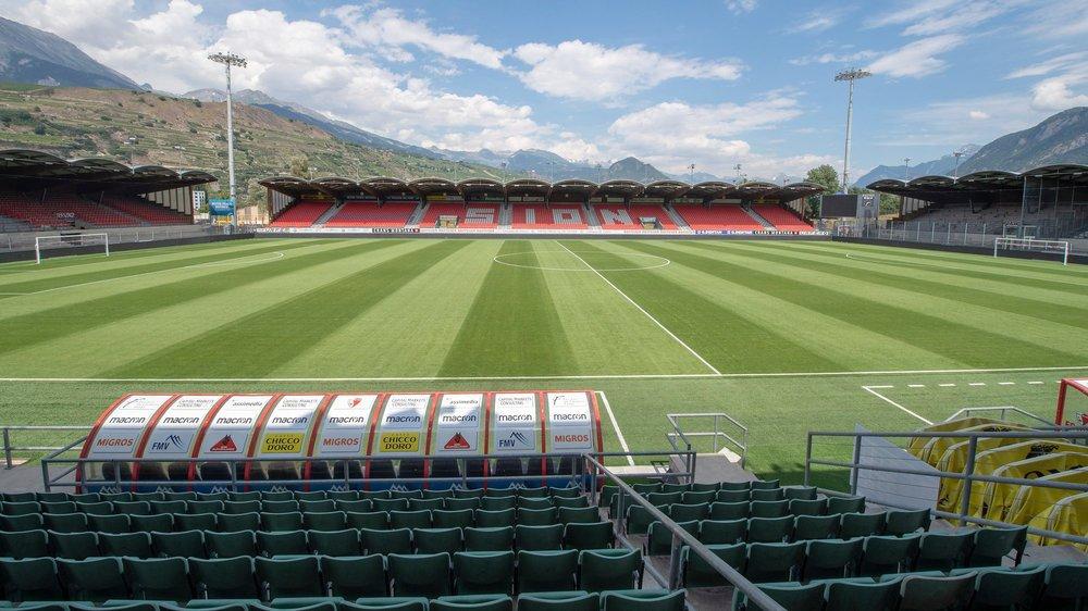 Le stade de Tourbillon a déjà accueilli trois fois l'équipe de Suisse. Des matchs amicaux, toutefois.