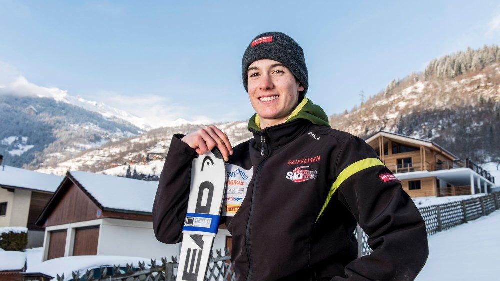 Luc Roduit disputera le géant, le slalom et le team event.