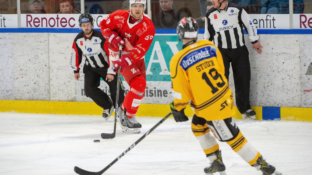 Hockey: Sierre et HCV Martigny veulent faire le break à l'extérieur