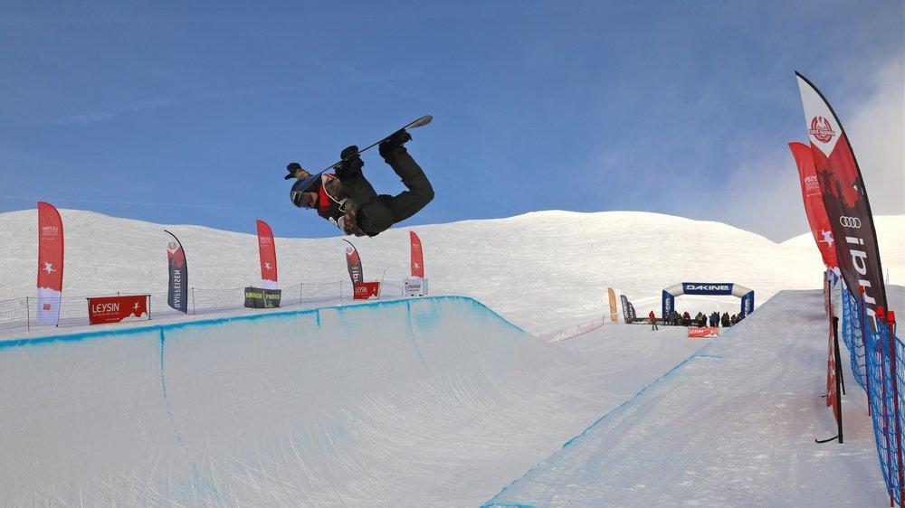 A Leysin, un nouveau snowparc a été inauguré le mois dernier.