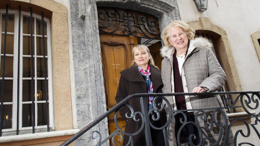 Galina Gex-Novikova et Marta Albertini, une histoire d'amitié autour de Tolstoï.