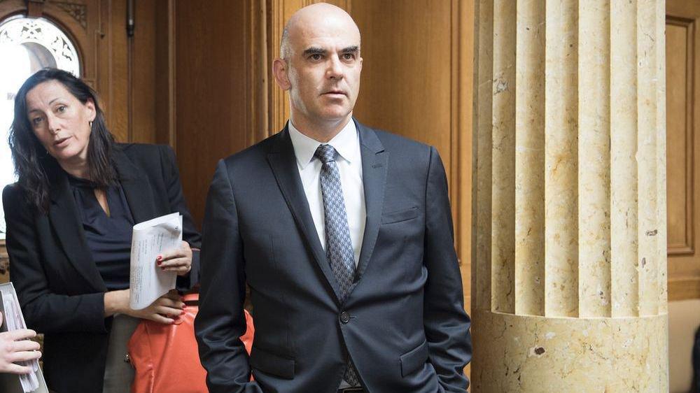 Nicole Lamon, une Valaisanne jamais très loin de son conseiller fédéral Alain Berset.