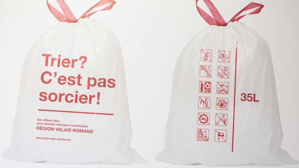 L'introduction de la taxe au sac a permis de diminuer le volume des déchets.