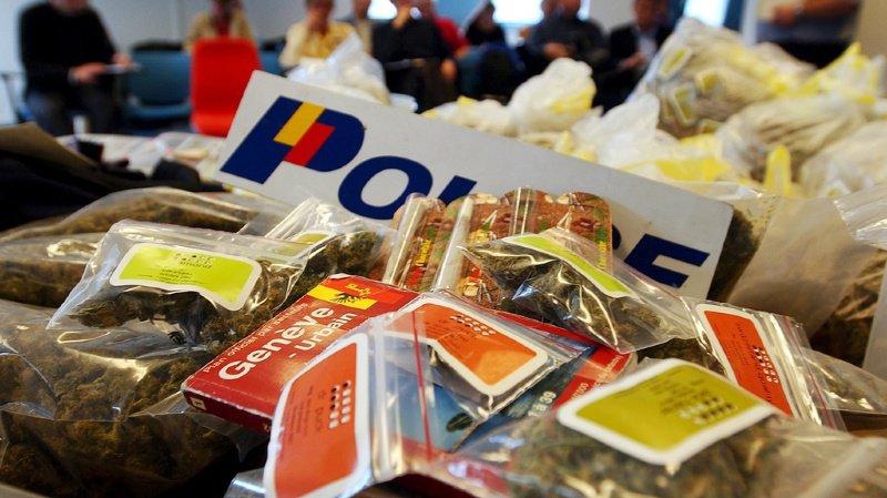 Genève: la police saisit 23 kilos de haschisch et 4,4 kilos de marijuana