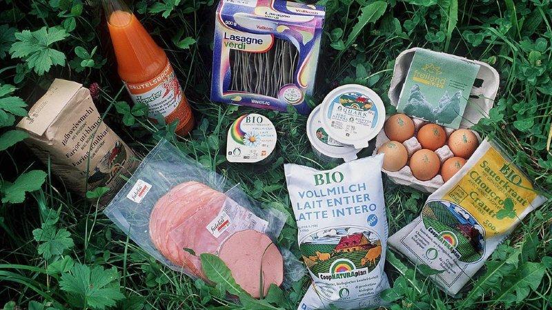 Les Suisses sont les plus grands consommateurs de bio au monde
