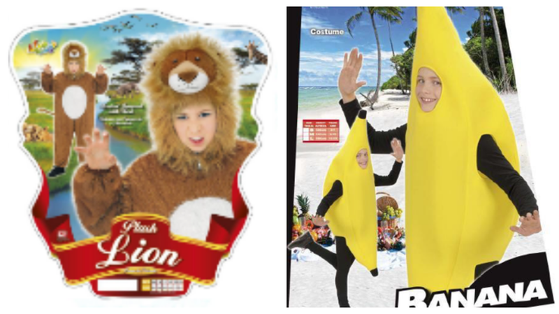 Rappel de produits: quatre costumes de carnaval pour enfants sont facilement inflammables