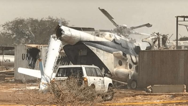 L'hélicoptère transportait 23 passagers au moment du crash survenu samedi dans l'enceinte de la Force de sécurité intérimaire des Nations Unies pour Abiyé.