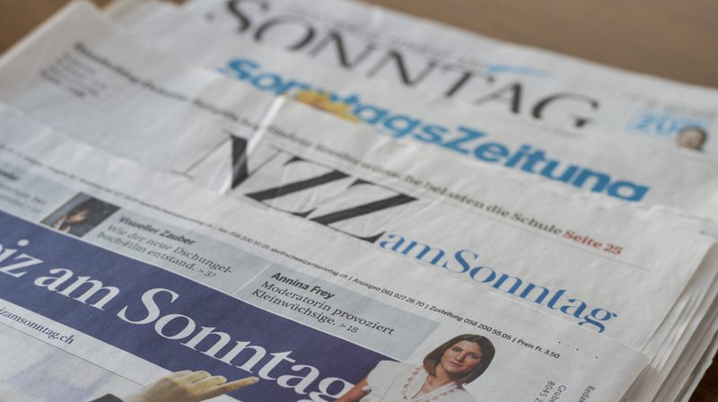 Profils ADN enregistrés par les polices de Suisse, téléphonie 5G et accord-cadre avec l'UE, Brexit sont quelques-uns des sujets abordés par la presse dominicale. (Archives)