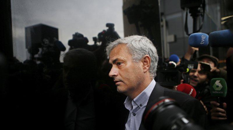 Fraude fiscale: grosse amende à la place de la prison pour José Mourinho