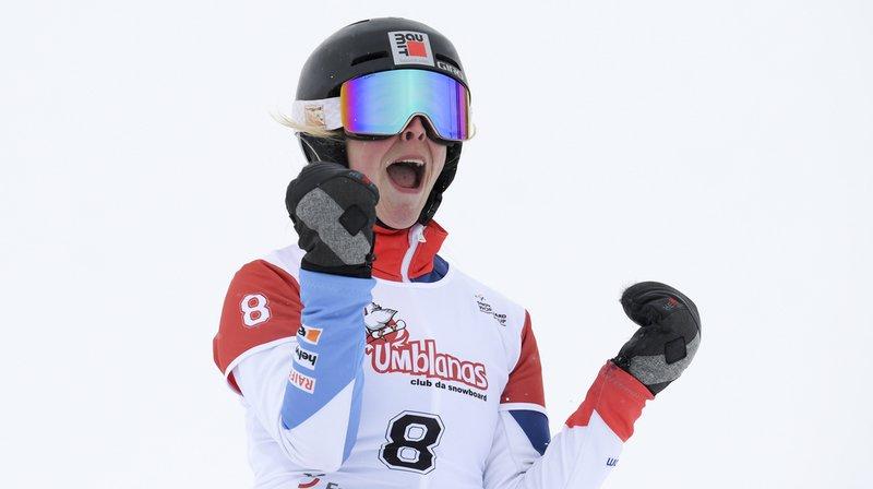 Snowboard - Mondiaux de Park City: Ladina Jenny décroche la médaille de bronze au géant parallèle