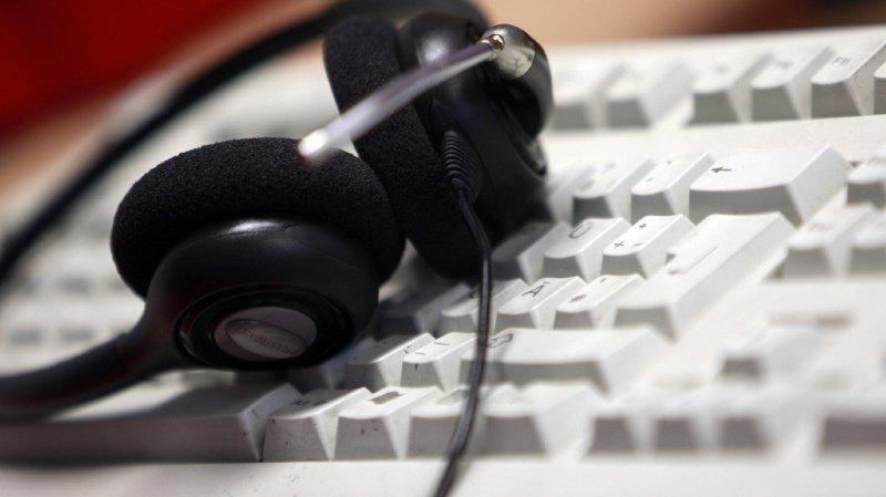 Les autorités suisses ont toute les peines du monde à sanctionner les call center, presque toujours établis à l'étranger (illustration).