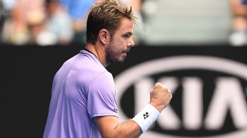 """Stan Wawrinka affrontera en 8es de finale le vainqueur de la rencontre qui opposera mardi Philipp Kohlschreiber (ATP 32) à Milos Raonic (ATP 14), son """"bourreau"""" lors du dernier Open d'Australie."""