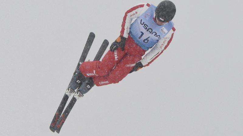 Ski freestyle: le Suisse Noé Roth en bronze lors de l'épreuve de saut des championnats du monde