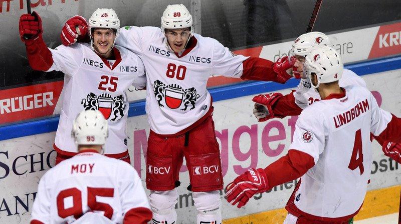Hockey: Lausanne vainqueur 2-1 à Lugano, Bienne perd 3-0 à Berne
