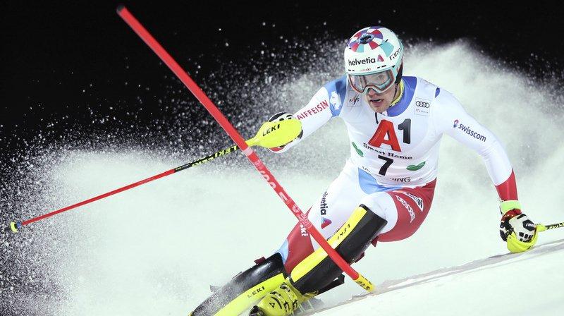 Ski alpin: Daniel Yule, 2e, et Ramon Zenhäusern, 4e, peuvent viser le podium, Hirscher hors catégorie
