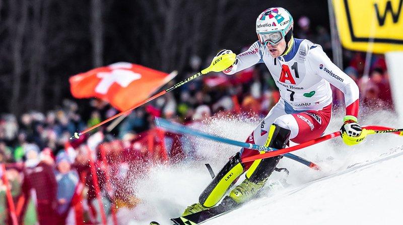 Ski alpin: Daniel Yule 3e et Ramon Zenhäusern 4e du slalom nocturne de Schladming, Hirscher au-dessus du lot